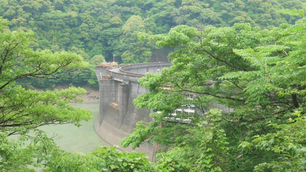 綾北ダム 通行止めでなかなかたどり着けないダム | Harada Office Weblog