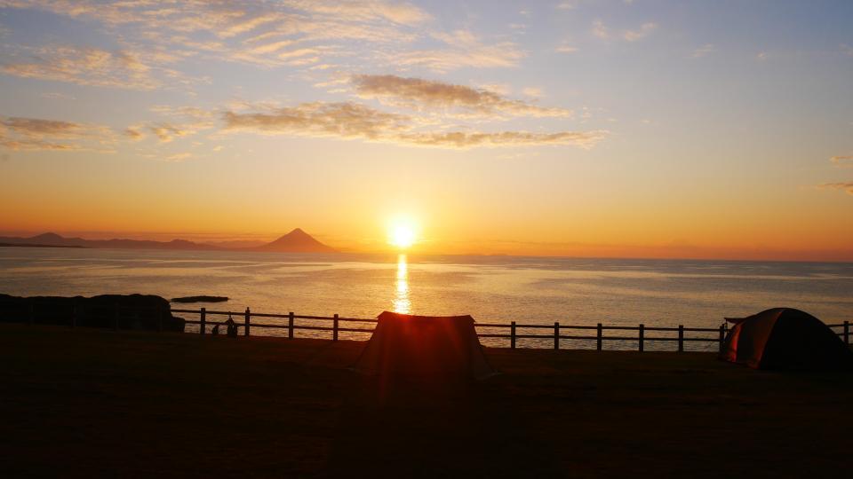 火の神公園から見る日の出